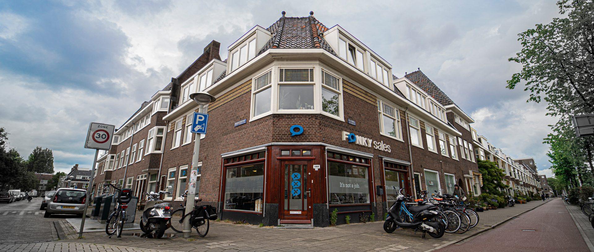Pand bijbaan Amsterdam