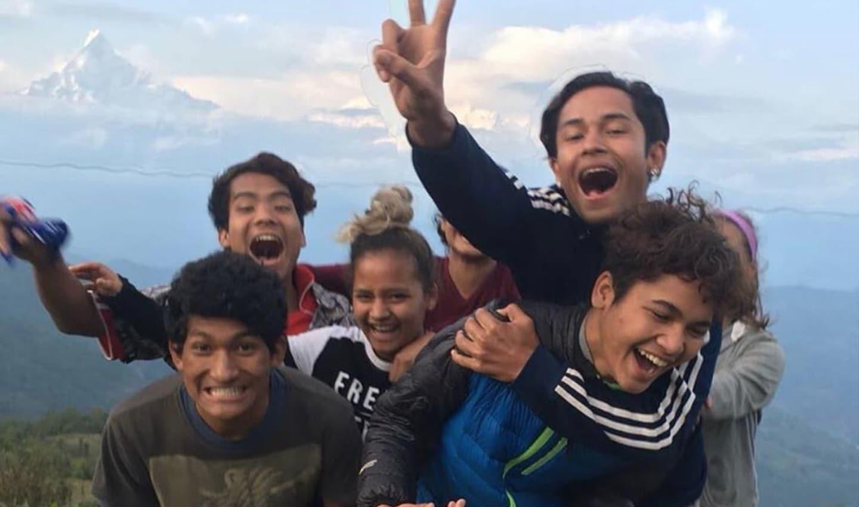 Fonk naar Flame: Nepalese jongeren