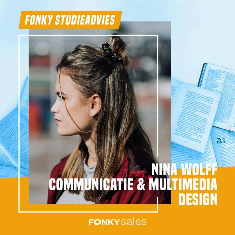 Fonky Studieadvies Nina Wo;f