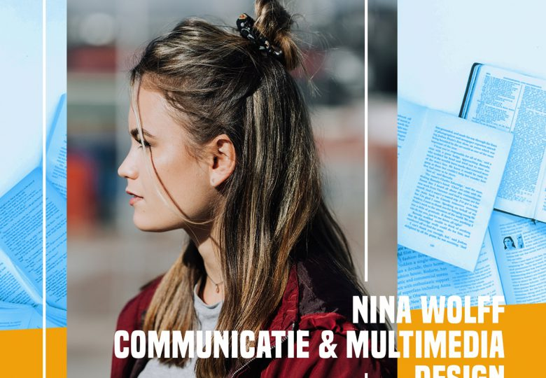 Fonkiaan Nina vertelt over haar Studie Communicatie & Multimedia Design