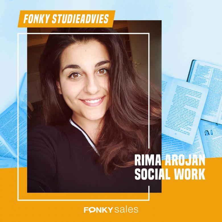 Fonkiaan Rima vertelt over haar studie Social Work