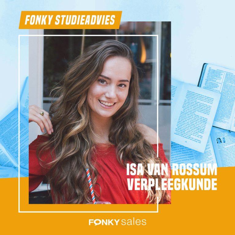 Fonky Studieadvies Isa van Rossum