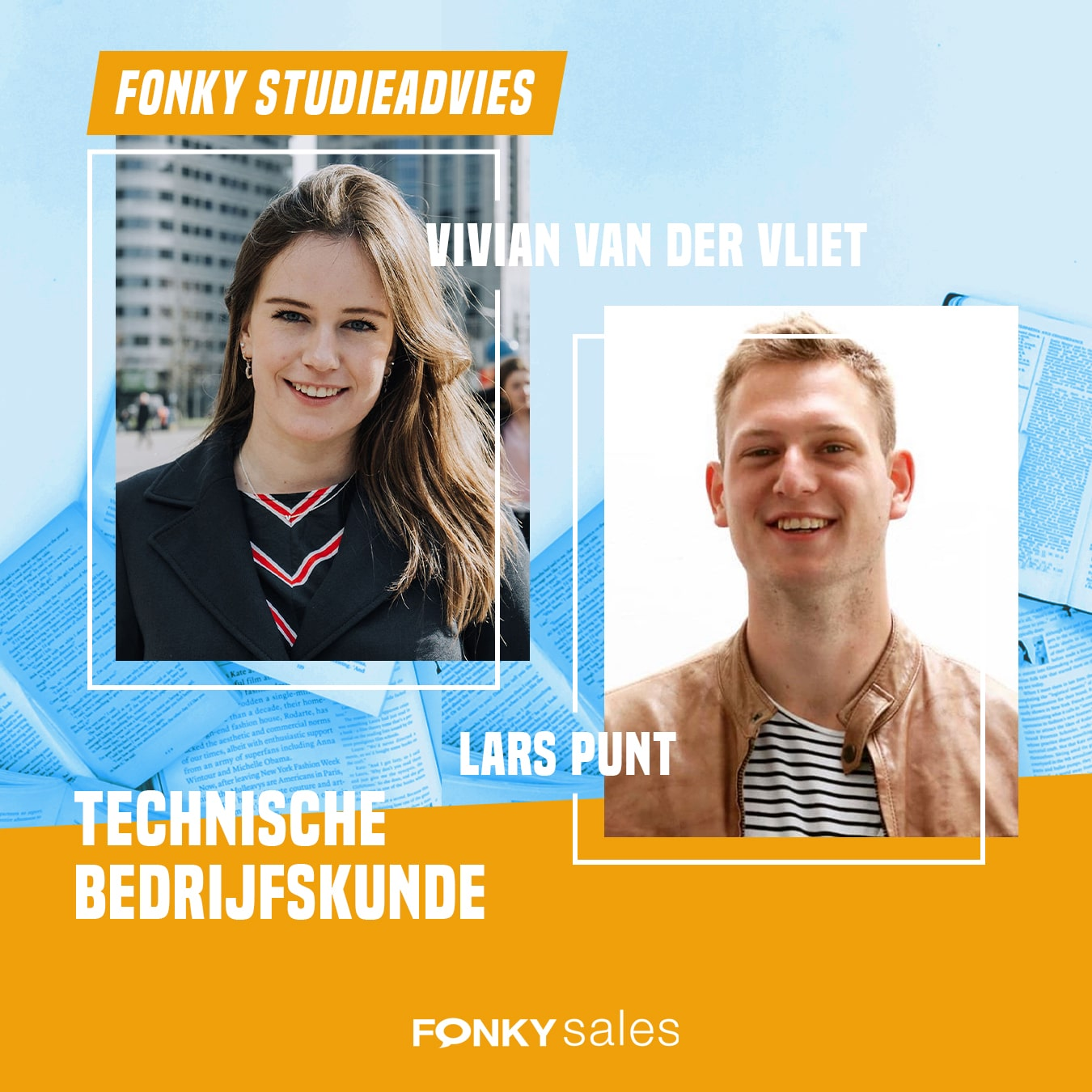 Fonky Studieadvies Vivian en Lars