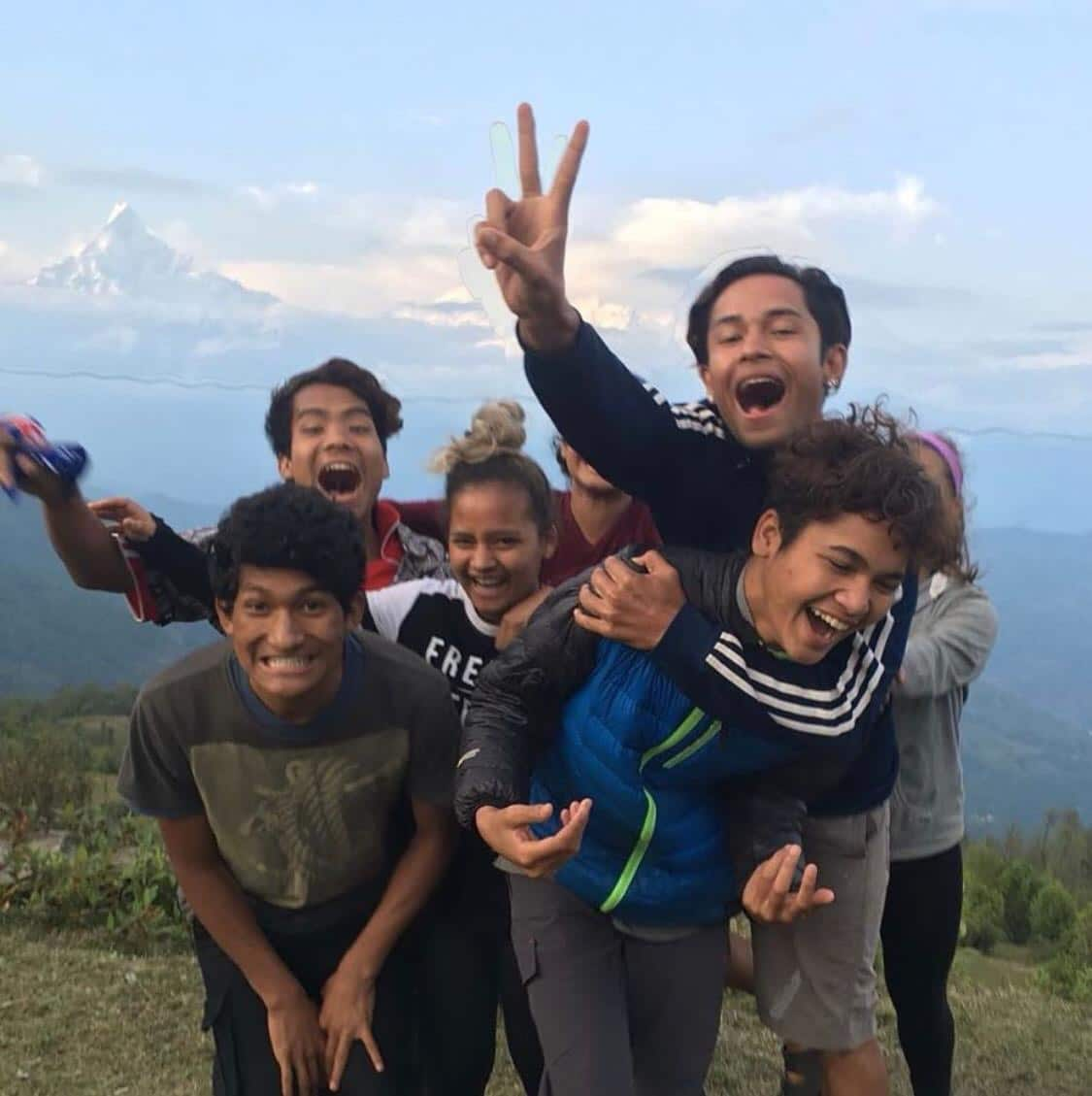 Nepalese jongeren