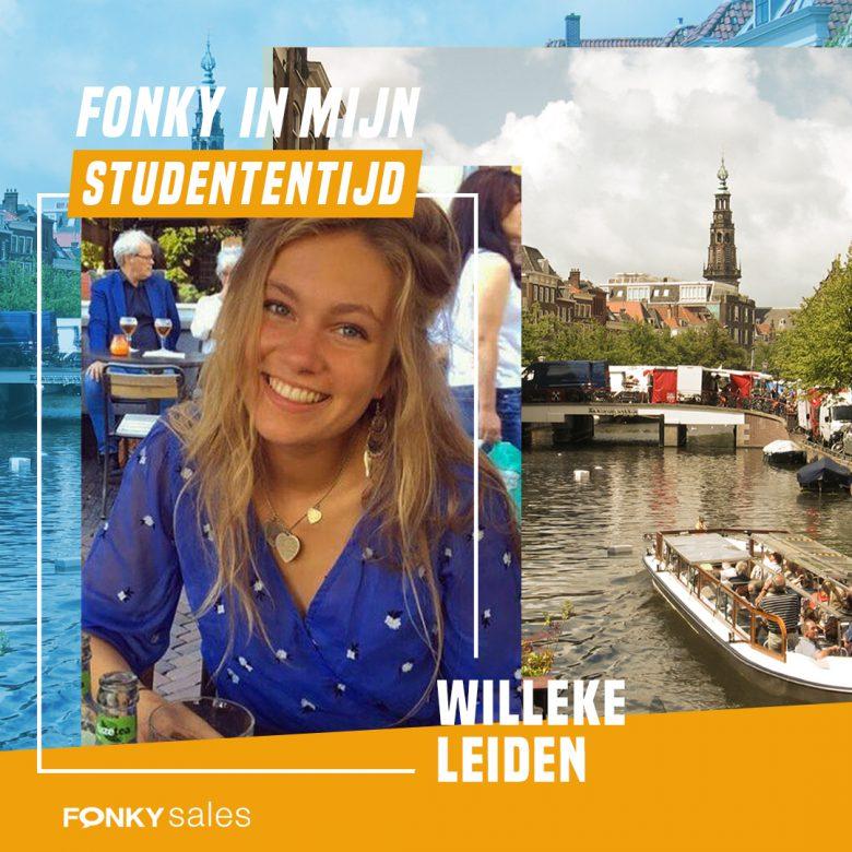 Studententijd in Leiden