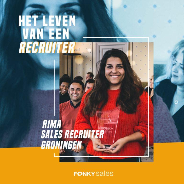 Sales Recruiter Groningen - Rima