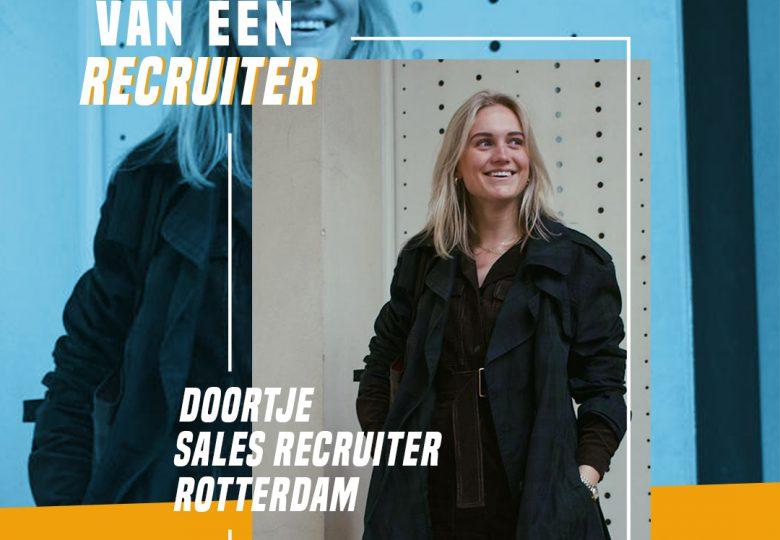 Het leven van een Recruiter – Sales Recruiter Doortje