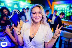 Debora op het Fonky Feest